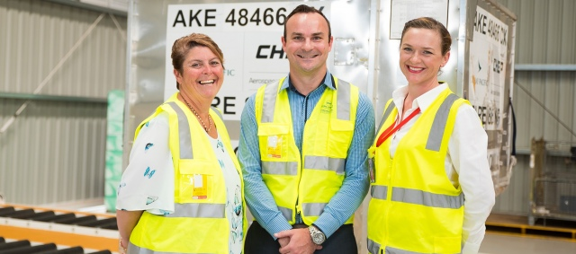 2.-melissa-anderson-and-shaun-chapman-from-one-global-logistics-touring-the-brisbane-west-wellcamp-airport-freight-facilities-with-sara-hales-2